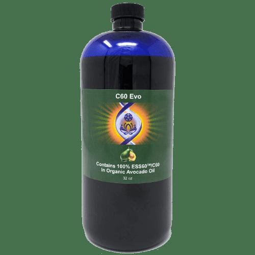 C60 Evo Organic Avocado Oil, 32 oz