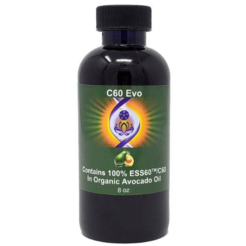 C60 Evo Organic Avocado Oil, 8 oz