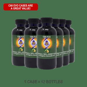 C60 Evo Organic Avocado Oil Case Special