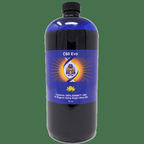 C60 Evo Organic Olive Oil, 32 oz