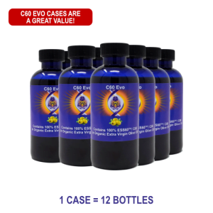 C60 Evo Organic Olive Oil Case Special