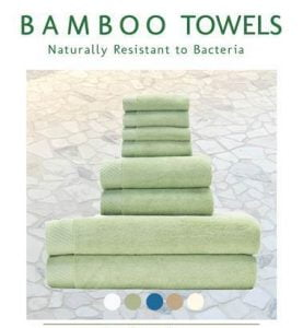 BedVoyage Bamboo Towels