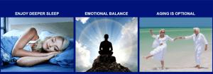 C60 Evo home page better sleep, emotional balance, aging is optional